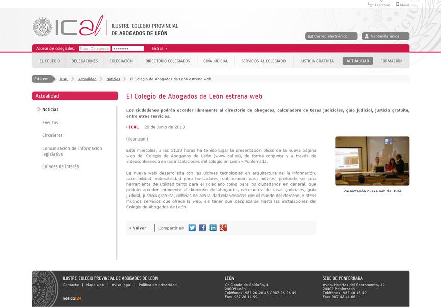Ilustre Colegio de Abogados de León_ical6