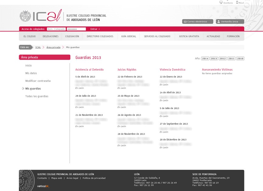 Ilustre Colegio de Abogados de León_ical7